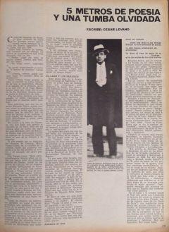 Imagen del artículo publicado por César Lévano en Caretas.